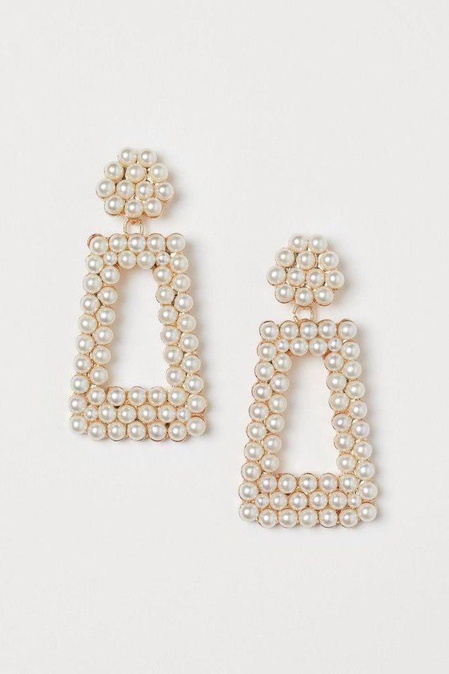 Boucles d'oreilles à perles H&M