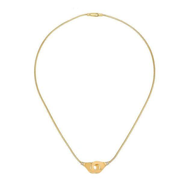 Collier Menottes dorée Dinh Van