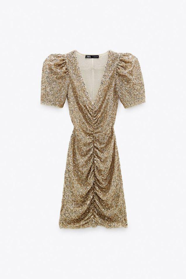 Robe à paillettes Zara