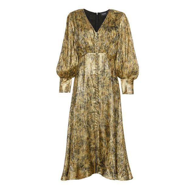 Robe dorée The Kooples