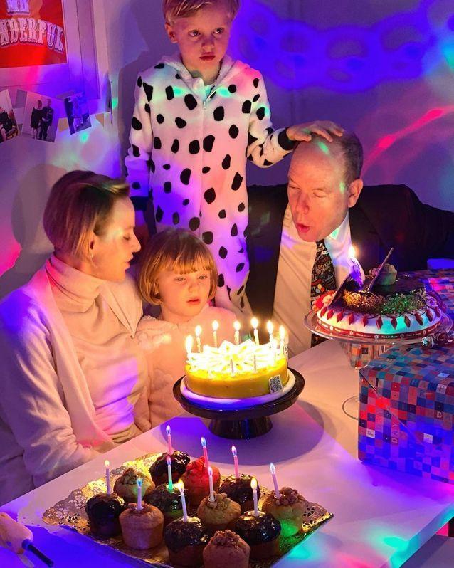 En famille pour fêter l'anniversaire de Jacques et Gabriella