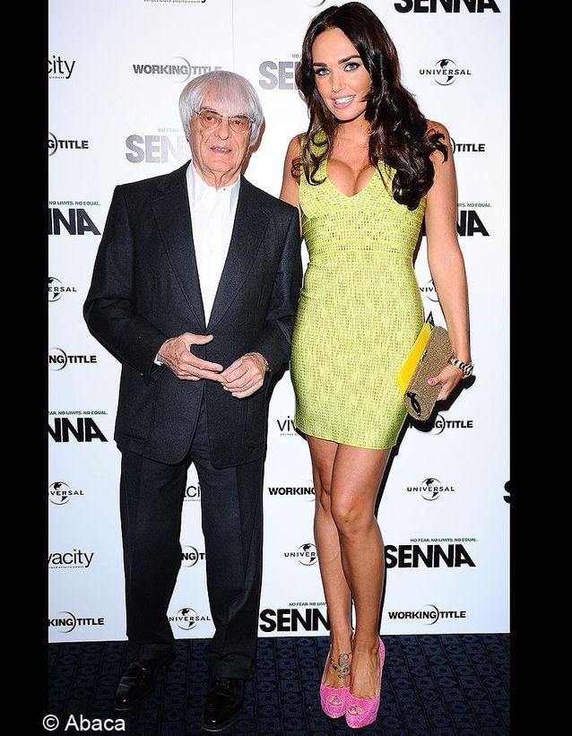 Tamara Ecclestone et son père Bernie Ecclestone