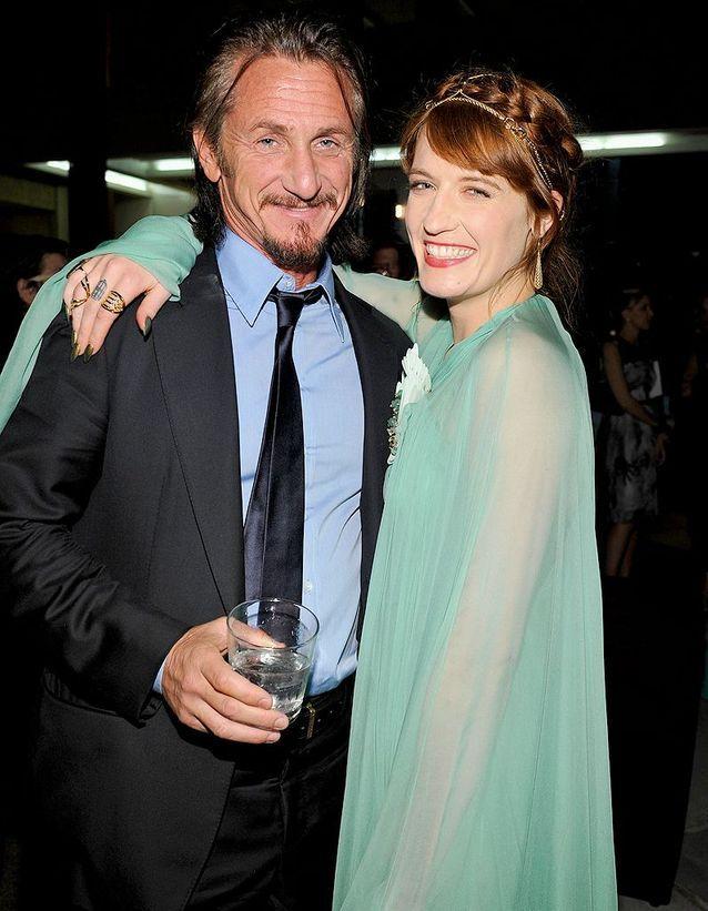 Sean Penn et Florence Welch