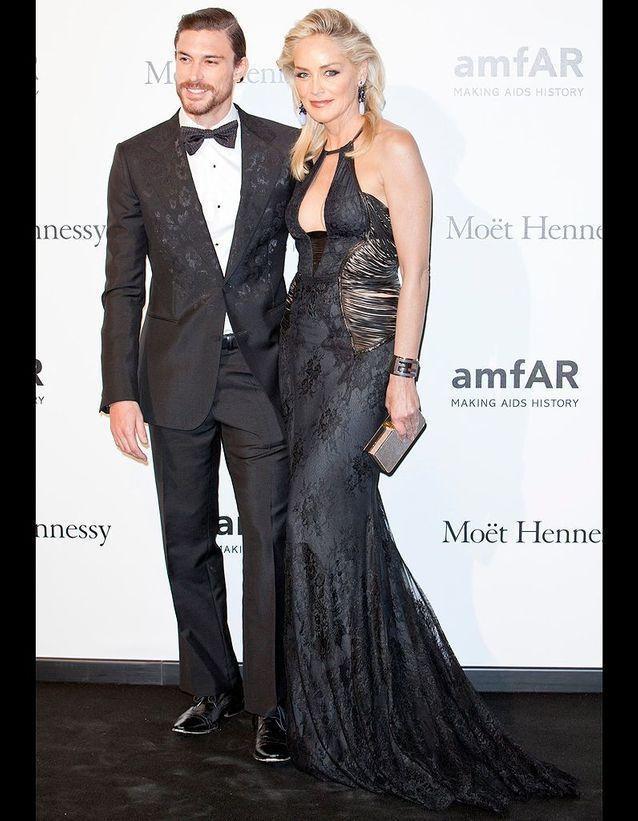 Sharon Stone et Martin Mica