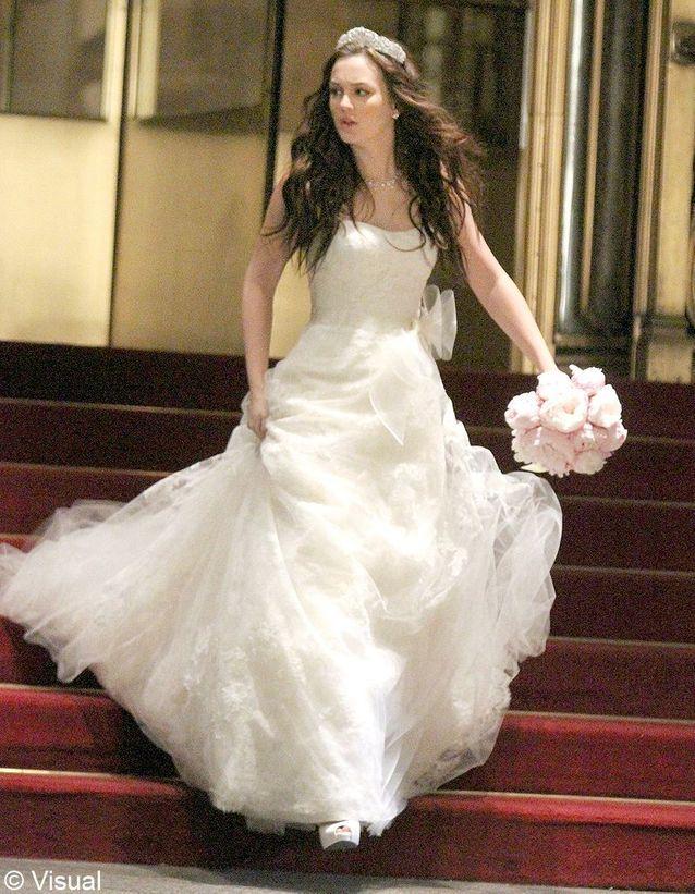 la robe de mariée de Blair Waldorf dans « Gossip Girl »