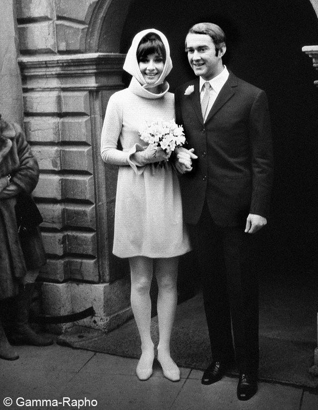 Le mariage de Audrey Hepburn et Andrea Dotti