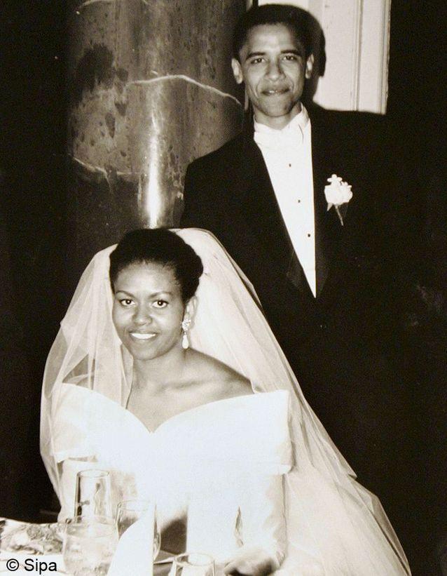 le mariage de Barack et Michelle Obama