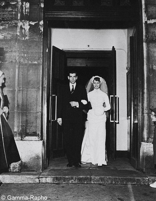 le mariage de Brigitte Bardot et Roger Vadim