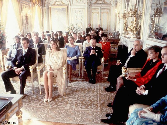 le mariage de Caroline de Monaco et Stefano Casiraghi