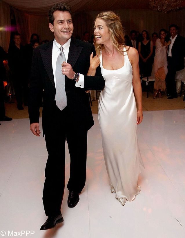 Le mariage de Charlie Sheen et Denise Richards