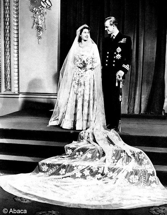 Le mariage de Elizabeth II et Philip Mountbatten
