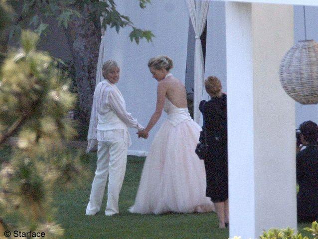 Le mariage de Ellen DeGeneres et Portia de Rossi
