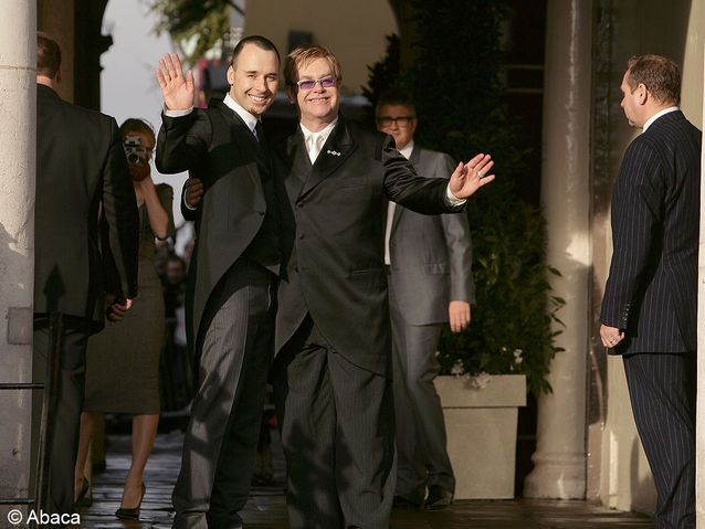 Le mariage de Elton John et David Furnish