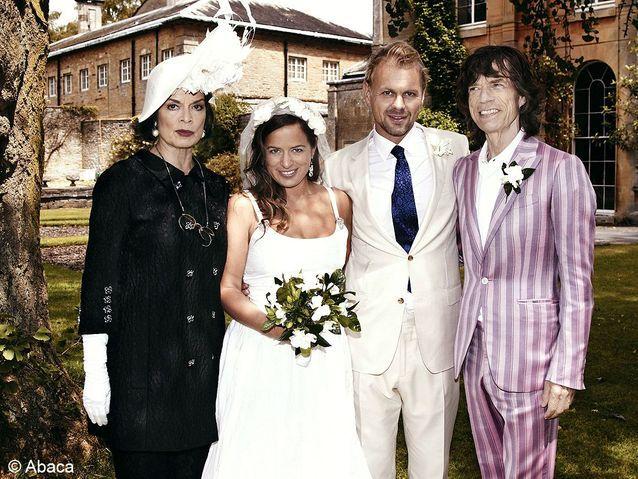 le mariage de Jade Jagger et Adrian Fillary
