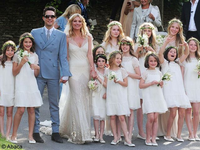 Le mariage de Kate Moss et Jamie Hince