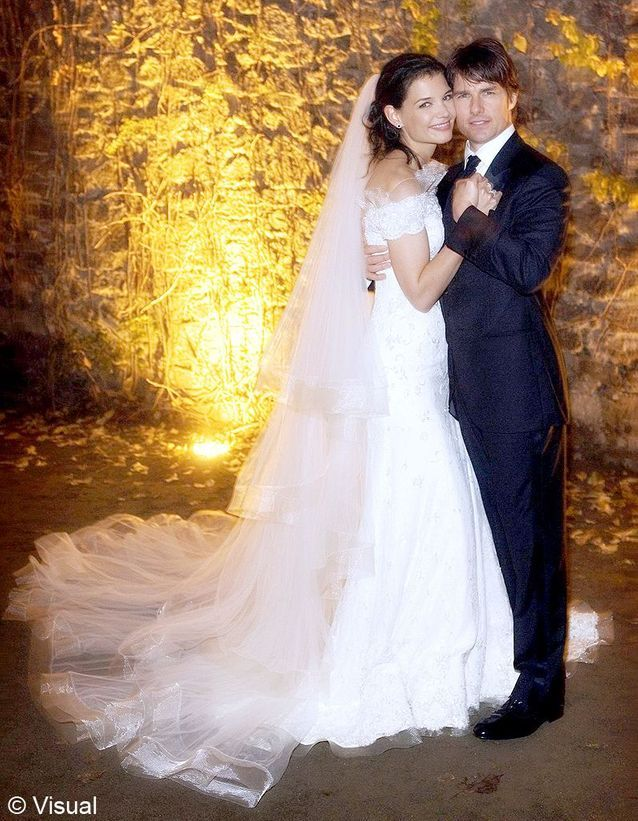 Le mariage de Katie Holmes et Tom Cruise