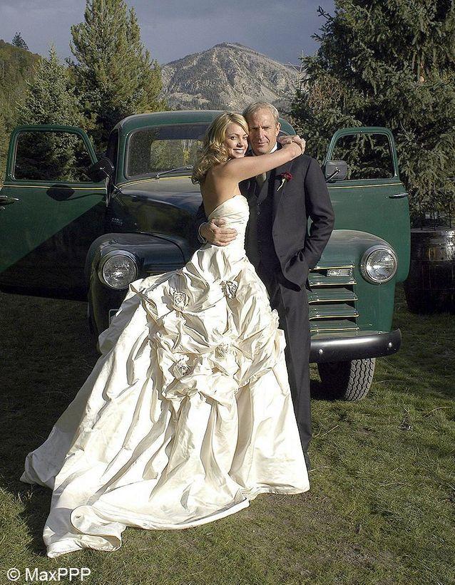 le mariage de Kevin Costner et Christine Baumgartner