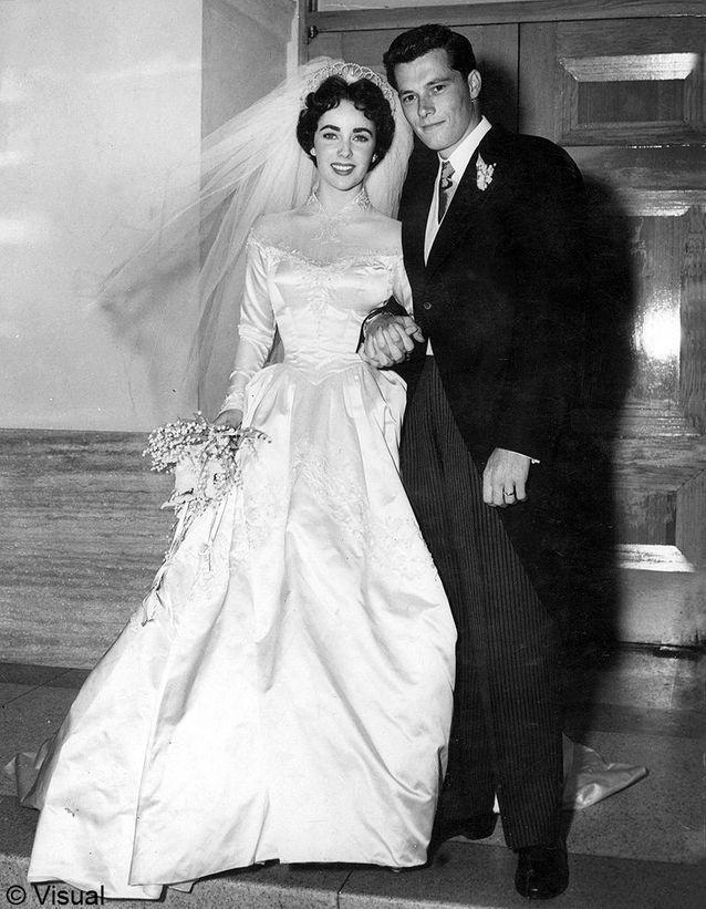 Le mariage de Liz Taylor et Nick Hilton