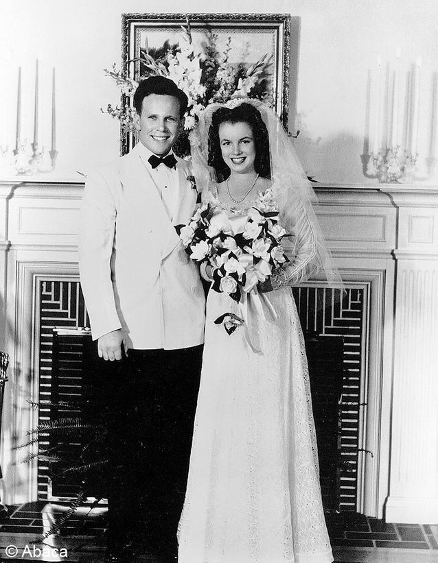le mariage de Marilyn Monroe et James Dougherty