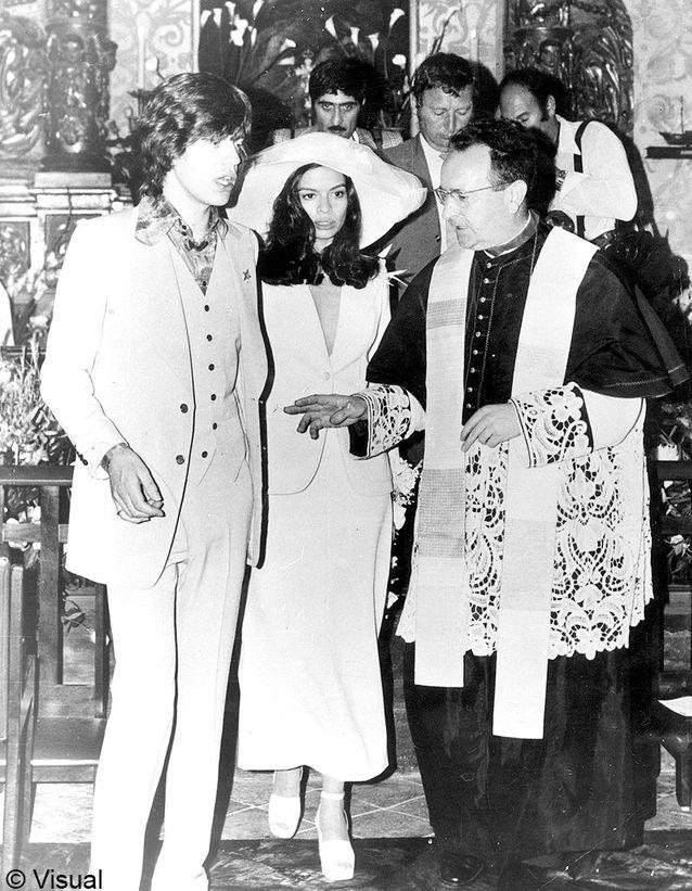 le mariage de Mick Jagger et Bianca Perez Morena