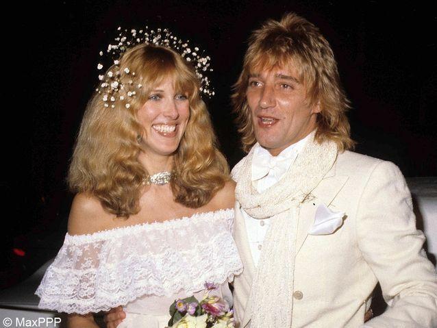 le mariage de Rod Stewart et Alana Hamilton