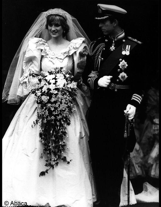 le mariage du prince Charles et Diana Spencer