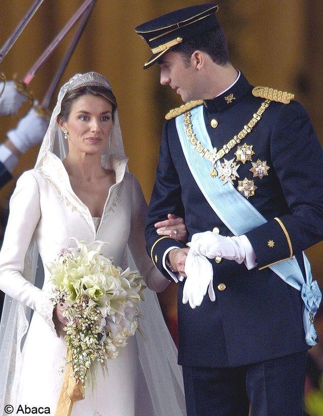 le mariage du prince Felipe d'Espagne et Letizia Ortiz