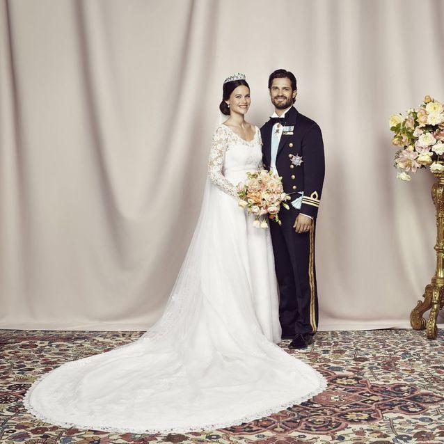 Sofia Hellqvist et Carl Philip de Suède