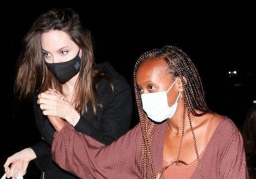 Angelina Jolie en sortie avec sa fille Zahara : l'évolution d'un duo complice