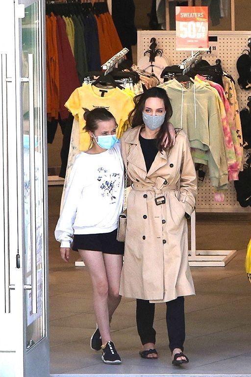 Angelina Jolie et sa fille Vivienne