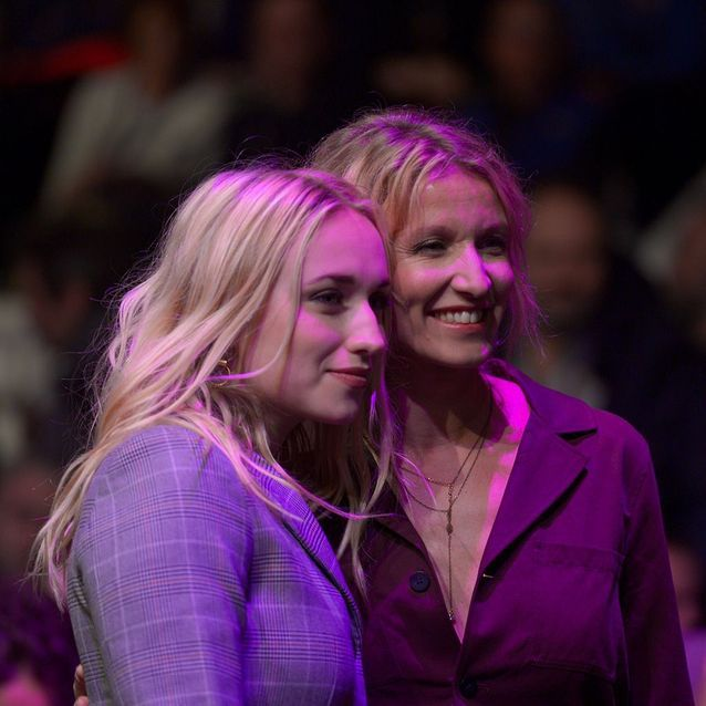 Alexandra Lamy et Chloé Jouannet
