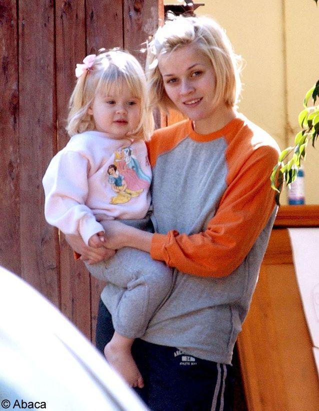 Bébé, avec sa mère Reese