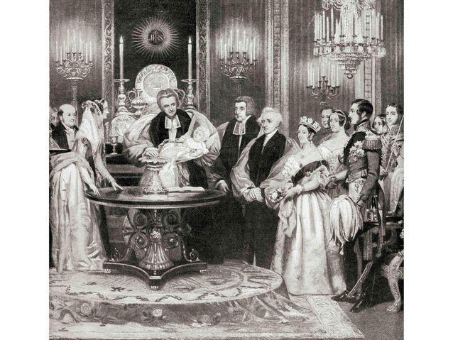 Le baptême de la princesse Victoria