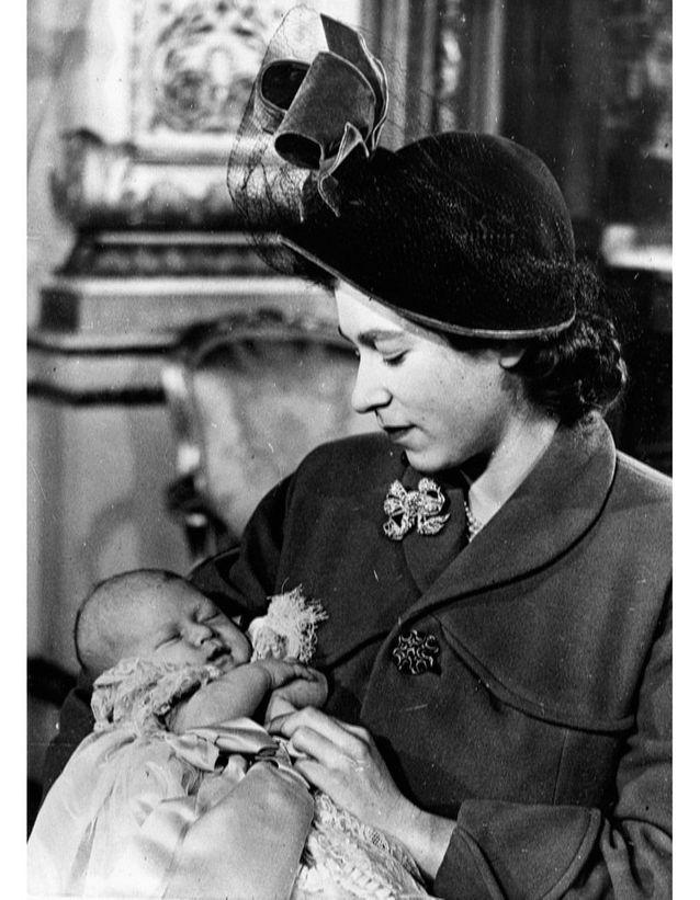 Le baptême du prince Charles
