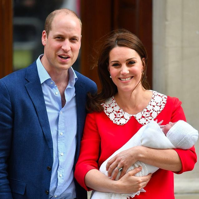 Le prince Louis, le bébé du prince William et Kate Middleton