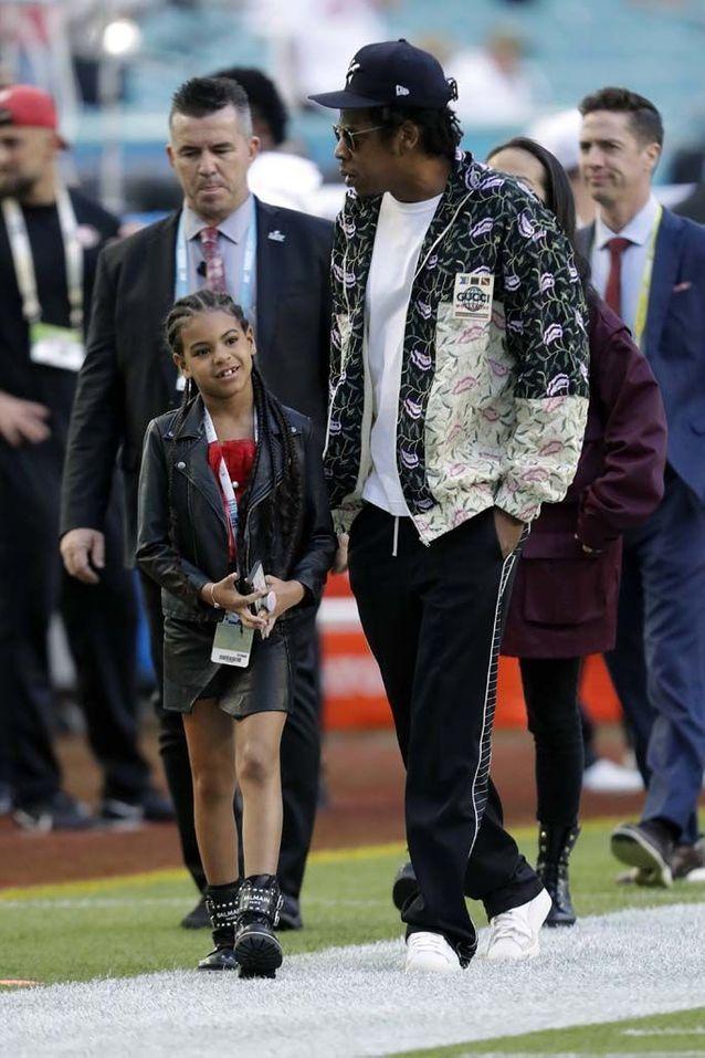 Jay-Z et sa fille Blue Ivy