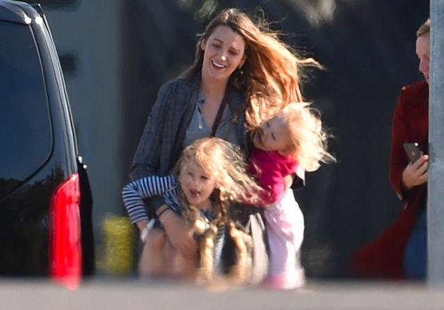 Blake et ses filles James et Ines