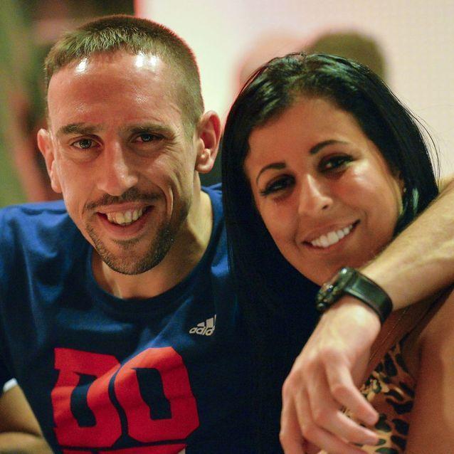 Franck Ribéry et Wahiba