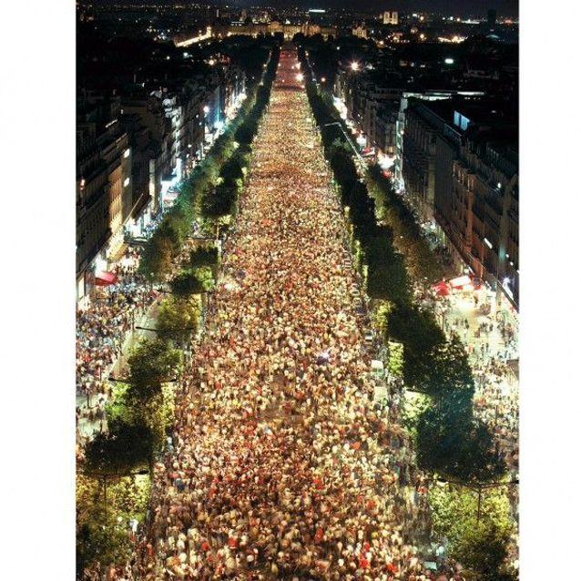 La fête dans les rues