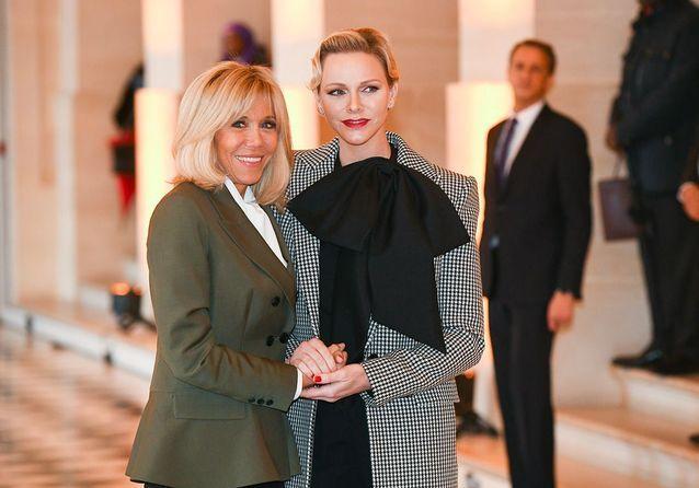 Brigitte Macron : rencontre au sommet avec Charlène de Monaco et Melania Trump