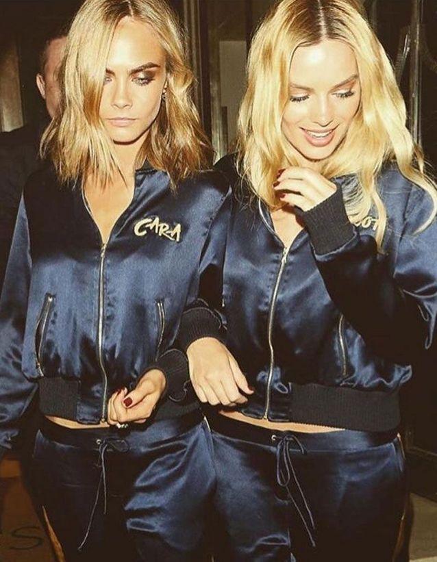 Avec sa copine canon Margot Robbie, toutes deux à l'affiche du film Suicide Squad
