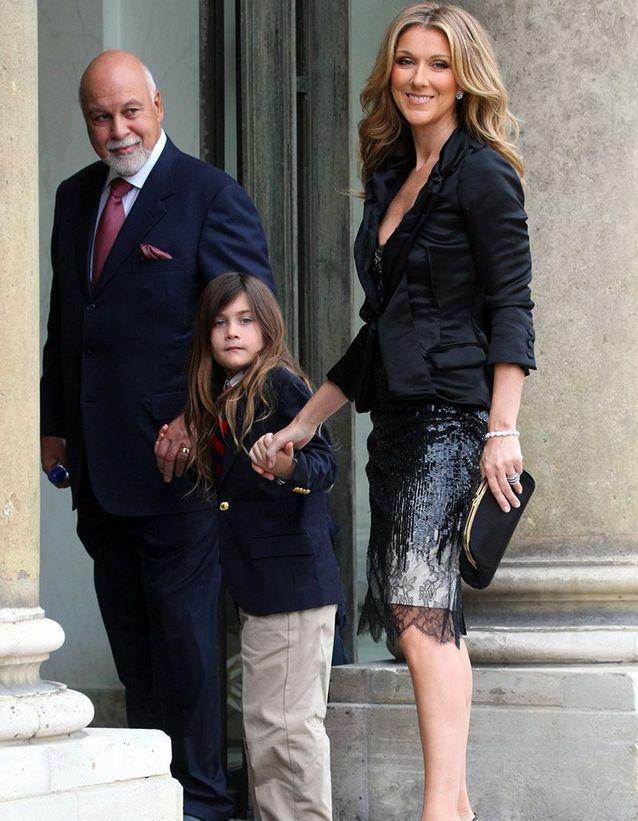 Céline Dion, René Angélil et René-Charles (2008)