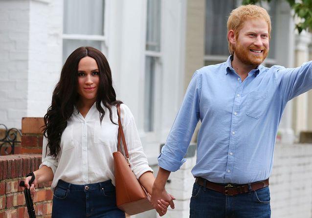 Ces masques de cire de Harry et Meghan vont vous mettre très mal à l'aise