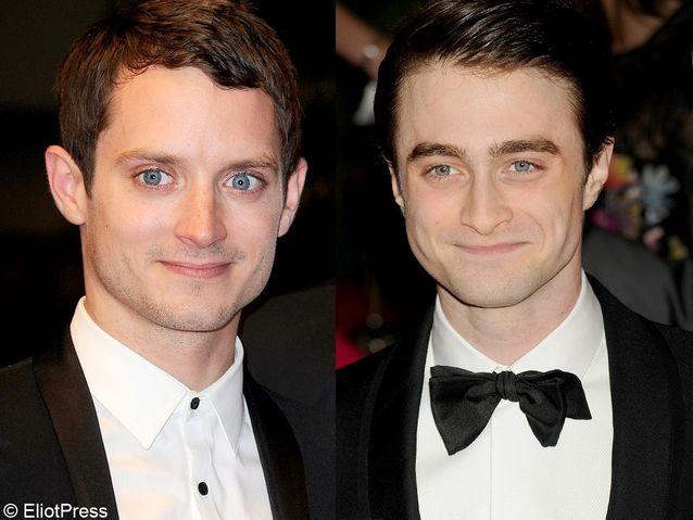 Daniel Radcliffe et Elijah Wood