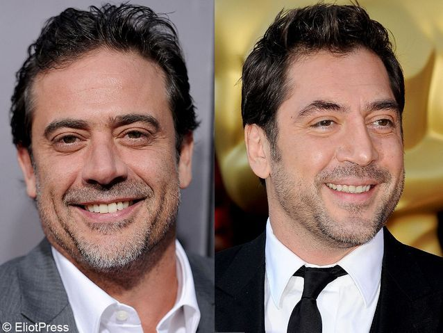 Javier Bardem et Jeffrey Dean Morgan (« Grey's Anatomy »)