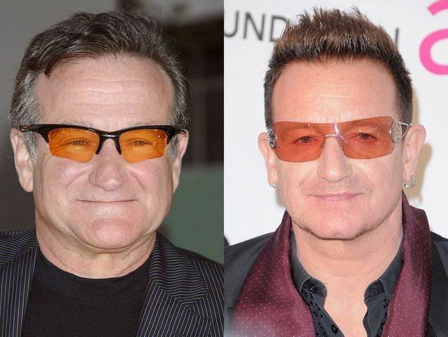 Robin Williams et Bono