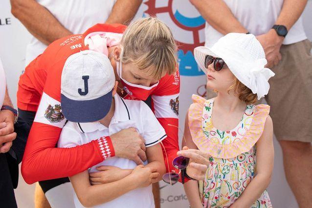 Charlène de Monaco et les jumeaux Jacques et Gabriella