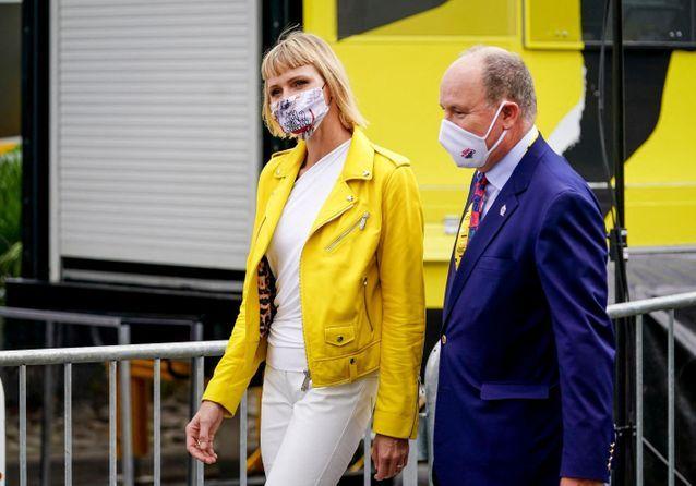 Charlène de Monaco : elle dévoile un nouveau look lors de la première étape du Tour de France
