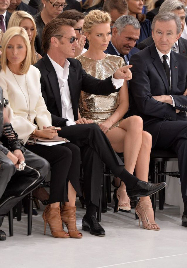 Au défilé Dior