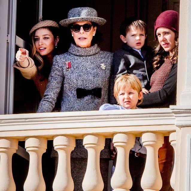 Caroline de Monaco et sa famille